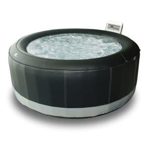Spa gonflable 6 places Happy Garden rond simili-cuir SUPER CAMARO